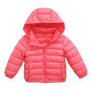 Kid's lightweight down jacket from  Fuzhou H&f Garment Co.,LTD