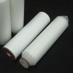 Pleated Filter from  KEITI (Korea Environmental Industry & Technology Institute)