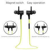 China Long Talktime Wireless Sports Bluetooth Headphone for iPhone/iPad/Android Mobile Phone