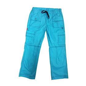 Cargo pant scrub pant from  Changshu Kingtex Import And Export Co.Ltd
