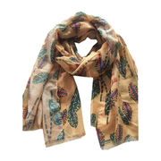Printed Scarf from  Hangzhou Willing Textile Co. Ltd