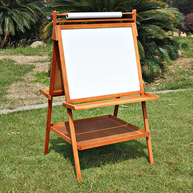 Children's wooden chalkboard easel from  Wenzhou Times Co. Ltd