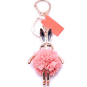 Gold-plated Rabbit Keychains from  Chanch Accessories International Co. Ltd