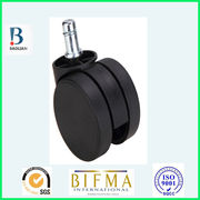 China Shenzhen factory 3860 series plastic ball office chair caster