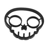 China 1pc black skull egg mold