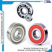 China Fan, motor bearing industrial deep groove ball bearing