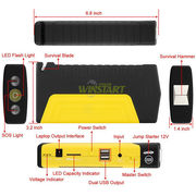China New car jump starter for gasoline and diesel 16800mAh vehicle