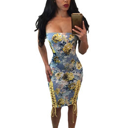Bodycon Floral Dress from  Nan'an City Shiying Sexy Lingerie Co. Ltd