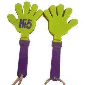 Mini plastic promotion hand clapper from  Ningbo Junye Stationery & Sports Articles Co. Ltd