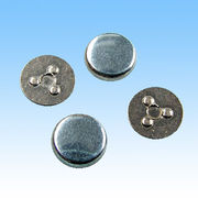 Silver alloy rivets from  HLC Metal Parts Ltd