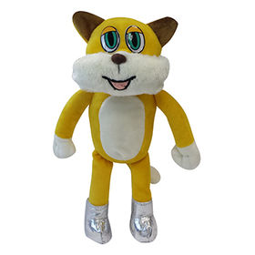 Short plush cat from  Anhui Light Industries International Co. Ltd