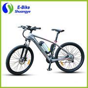 China Shuangye fashion carbon fiber intelligent brushless motor mountain E-bike