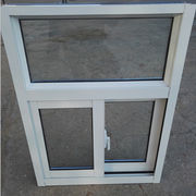 White Color Powder Coated Crescent Lock Aluminum from  Qingdao Jiaye Doors and Windows Co. Ltd
