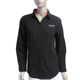Women's long sleeve business shirts from  You Lan Apparel Co. Ltd