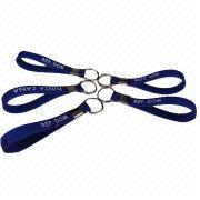 Promotional silicone lanyards from  Iris Fashion Accessories Co.Ltd