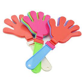 Plastic hand clapper from  Ningbo Junye Stationery & Sports Articles Co. Ltd