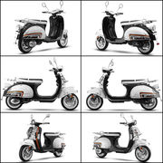 China The new classical scooter, retro and durable 50CC motor Ves with certificates of EEC, EPA, DOT