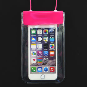 mobile phone water proof bag from  Hot and Cold Products Co. Ltd