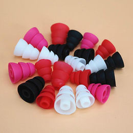 Soft silicone ear plugs from  Shenzhen SoonLeader Electronics Co Ltd
