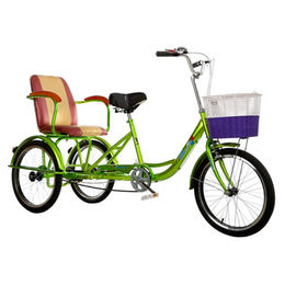 factory directly OEM 26 inch three wheel rickshaw from  Hebei IKIA Industry & Trade Co. Ltd