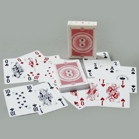 Casino poker card from  Kinlux Industrial Corporation
