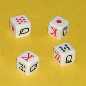 Durable Dice Measures 16x 16mm from  Kinlux Industrial Corporation