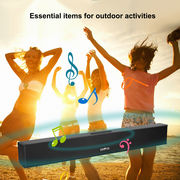 China Portable Sound Bar 21-inch Bluetooth Speakers Stereo 4×6W Speakers Powerful Bluetooth, Supports OEM