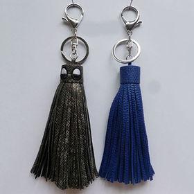 Fashion Plain Tassel Keychains from  Chanch Accessories International Co. Ltd
