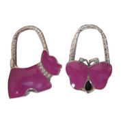 Fashionable bag shape purse hanger from  Dongguan Besda Hardware Products Co. Ltd