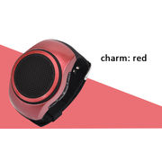 China Outdoor sports wireless Bluetooth wrist speaker watches with round and grace design