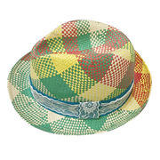 Colorful Braided Women's Straw Hat from  Ebolle Fashion Accessories Co. Ltd