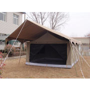 China Double-layer canvas outdoor glamping tent