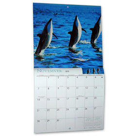 Promotional Calendar from  Kinlux Industrial Corporation