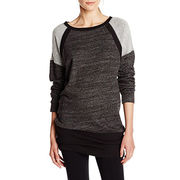 Fashion ladies oversized tunic sweatshirts from  Fuzhou H&f Garment Co.,LTD