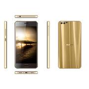 China 4G Phones, D2 Pro 5.2HD MT6737T/2+16GB 5 + 8 + 0.3MP 3000mAh Glass Back Cover