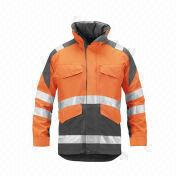 Reflective Safety Jacket from  Fuzhou H&f Garment Co.,LTD