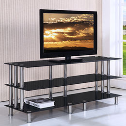 Modern glass TV stands from  Langfang Peiyao Trading Co.,Ltd