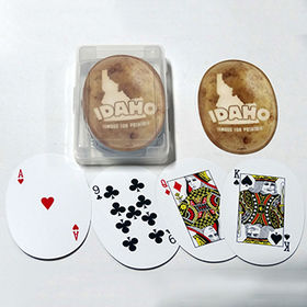 Oval shape playing cards from  Kinlux Industrial Corporation