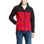 100% polyester men's jacket from  Fuzhou H&f Garment Co.,LTD