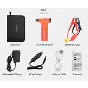 Multi function portable car jump starter power bank 7800mAh