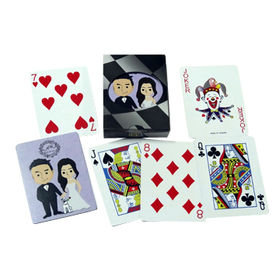 Paper poker cards from  Kinlux Industrial Corporation