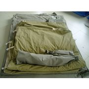 China Double Layers and Canvas Fabric Camping Safari Tent