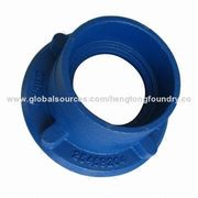 China Shower Drain with Square or Round Top, Iron Casting, Cast Iron, Epoxy Coating, Sand Casting