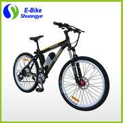 China Green power mountain bike, lithium bottle battery 36V e-bike