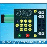 China Membrane keypad with LED backlight back illumination