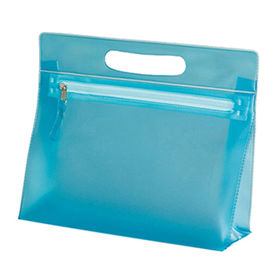 Cosmetic PVC zipper bag from  Hot and Cold Products Co. Ltd
