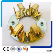 China Metal Stamping Part, Made of Copper, Customized Specifications are Accepted