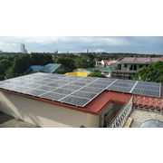 China Solar Pitched or Tin Roof Mounting System for Metal