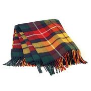 India Wool Striped Blanket