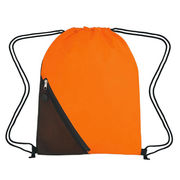 Promotion sports bag with customized logo printing and drawstring closure